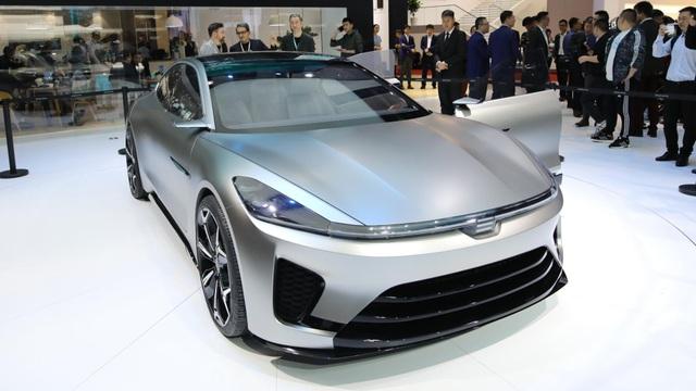 Lạc vào thế giới tương lai tại triển lãm ô tô Thượng Hải 2021 - 4