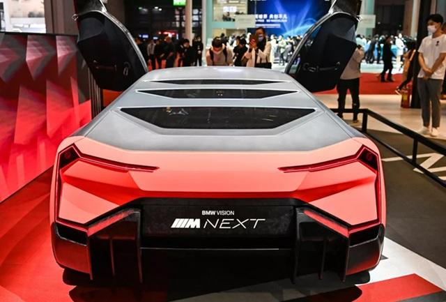 Lạc vào thế giới tương lai tại triển lãm ô tô Thượng Hải 2021 - 8