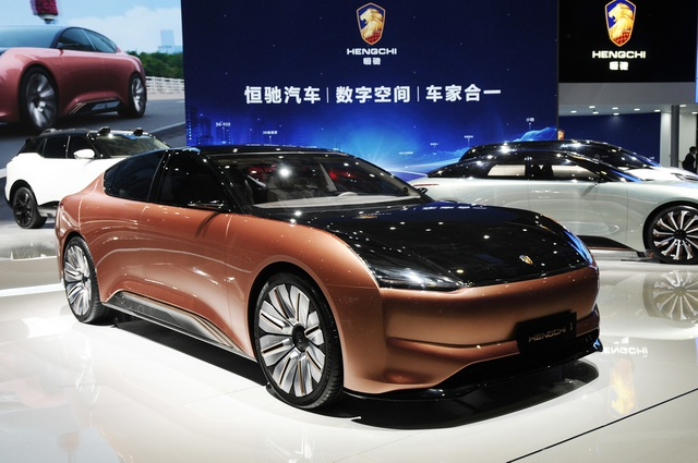 Lạc vào thế giới tương lai tại triển lãm ô tô Thượng Hải 2021 - 9