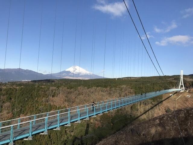 Ngắm núi Phú Sĩ từ cầu treo dài 400 m - 1
