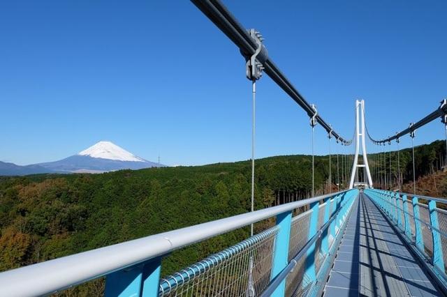 Ngắm núi Phú Sĩ từ cầu treo dài 400 m - 5