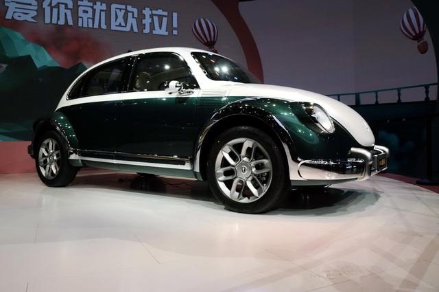 Volkswagen soi mẫu xe Trung Quốc nhái huyền thoại Beetle - 1