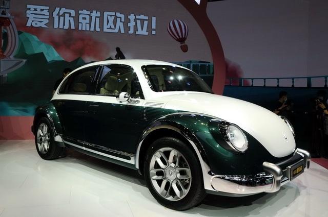 Volkswagen soi mẫu xe Trung Quốc nhái huyền thoại Beetle - 2