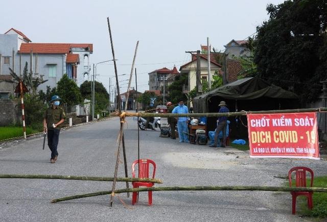 Hà Nam: Thiết lập vùng cách ly y tế 28 ngày với thôn có 5 ca mắc Covid-19 - 1