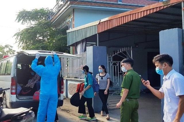 Hà Nam phong tỏa thêm 2 thôn có ca dương tính với SARS-CoV-2 - 3