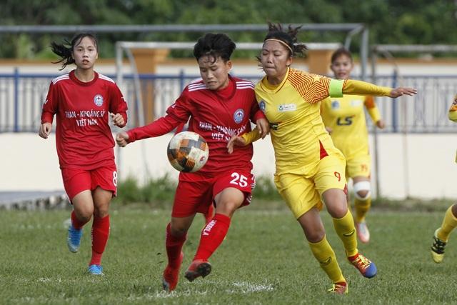 Xác định các cặp đấu bán kết Giải bóng đá Nữ Cúp Quốc gia 2021 - 1