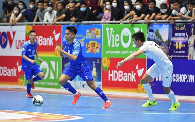Sahako vô địch lượt đi giải futsal vô địch quốc gia 2021 - 1