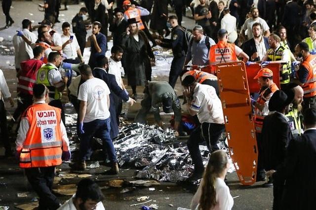 Giẫm đạp kinh hoàng ở Israel, 38 người chết - 1