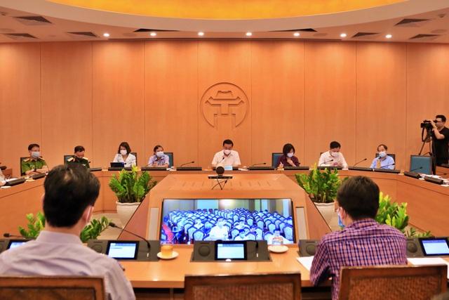 Dịch Covid-19 phức tạp, lãnh đạo TP Hà Nội gọi CDC cháy máy không được! - 1
