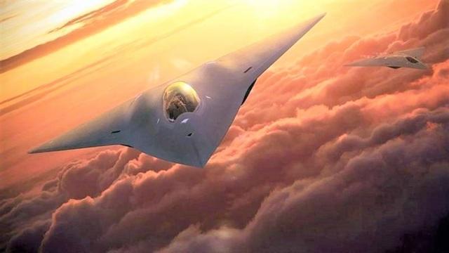 Hậu duệ của chiến đấu cơ tàng hình F-22 lộ diện - 3