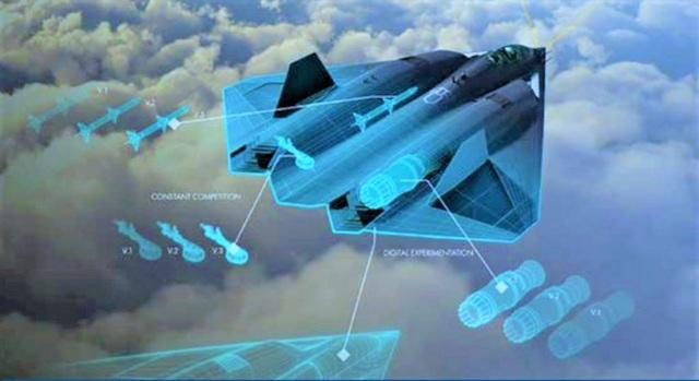 Hậu duệ của chiến đấu cơ tàng hình F-22 lộ diện - 2