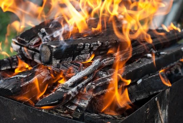 Vì sao gỗ nổ tanh tách trong đám cháy? - 1