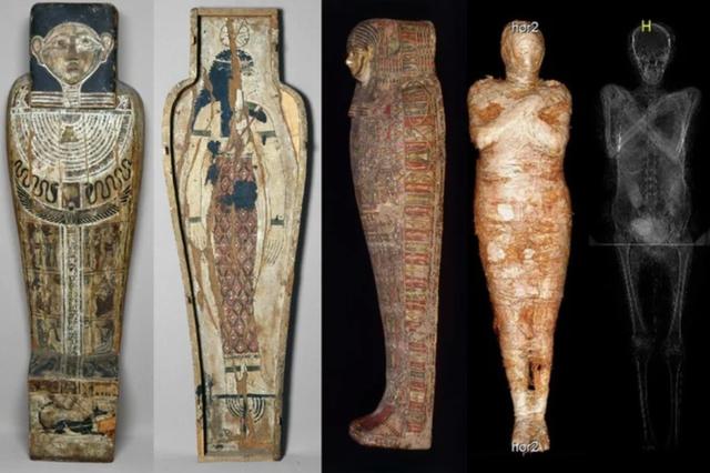 Lần đầu tiên phát hiện xác ướp Ai Cập cổ đại vẫn đang… mang thai - 2