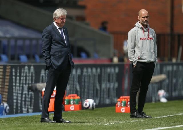 Crystal Palace 0-2 Man City: Chạm tay vào cúp bạc, nín thở chờ Man Utd - 7