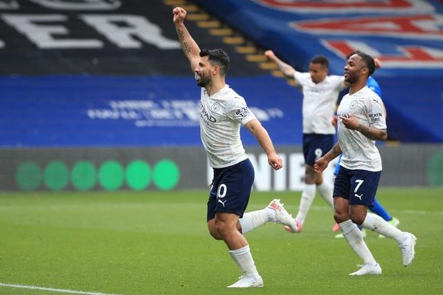 Crystal Palace 0-2 Man City: Chạm tay vào cúp bạc, nín thở chờ Man Utd - 4