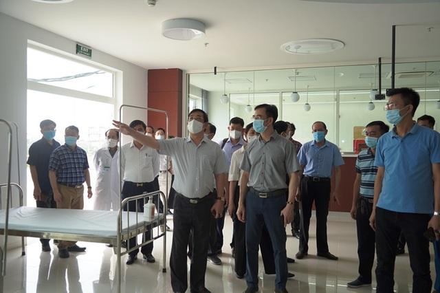 Thần tốc lập bệnh viện dã chiến 500 giường tại Hà Nam, sẵn sàng hoạt động - 1