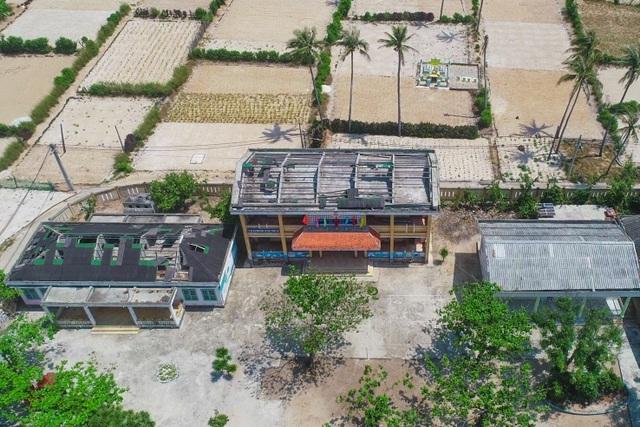 Chung tay khắc phục trường lớp hư hỏng cho học sinh đảo Lý Sơn - 1