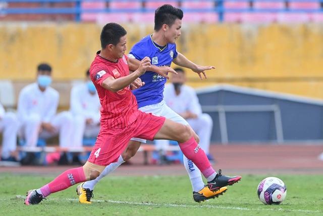 Quang Hải tịt ngòi, CLB Hà Nội vẫn thắng dễ Sài Gòn FC - 4