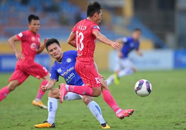 Quang Hải tịt ngòi, CLB Hà Nội vẫn thắng dễ Sài Gòn FC - 5