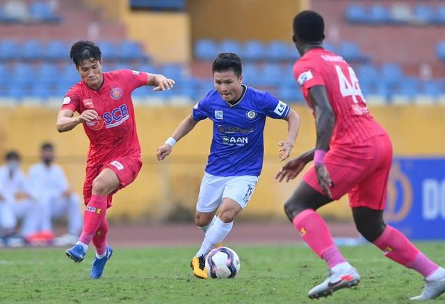 Quang Hải tịt ngòi, CLB Hà Nội vẫn thắng dễ Sài Gòn FC - 8