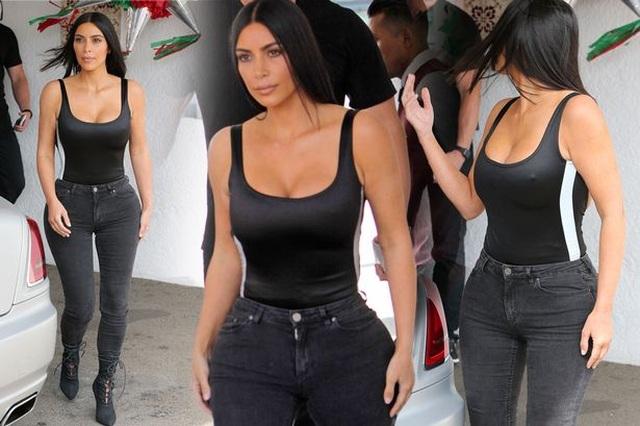 Kim Kardashian khoe eo nhỏ tới ngỡ ngàng - 8
