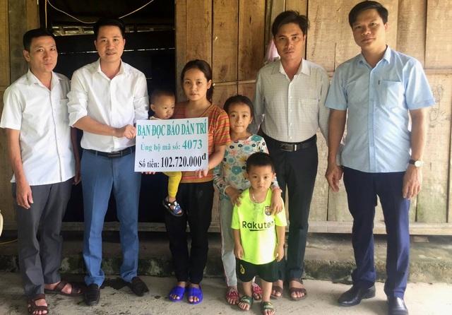 Ba đứa trẻ cầu xin sự sống cho cha được bạn đọc giúp đỡ hơn 100 triệu đồng - 5