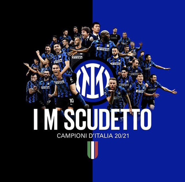 Inter chính thức hạ bệ Juventus, vô địch Serie A sau 11 năm - 2