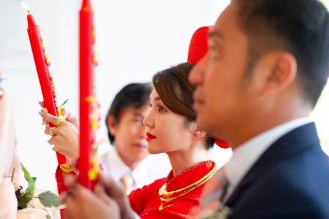 Khoảnh khắc hạnh phúc trong lễ cưới Đình Hiếu Cổng mặt trời ở Cà Mau - 5