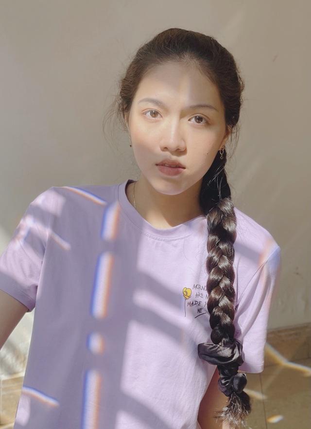 Tân Hoa khôi ĐH Tôn Đức Thắng cao 1m72, sở hữu mái tóc dài thướt tha - 2