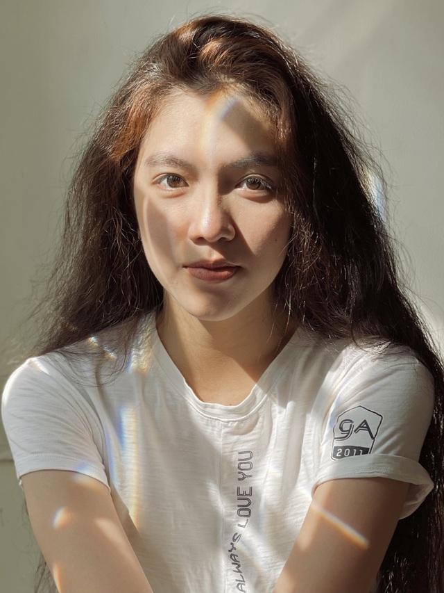 Tân Hoa khôi ĐH Tôn Đức Thắng cao 1m72, sở hữu mái tóc dài thướt tha - 9