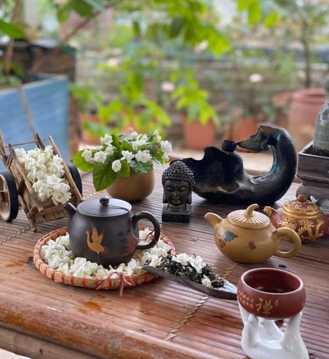Những công dụng bất ngờ của trà hoa nhài - 1