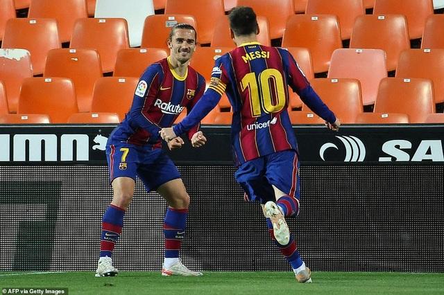 Messi rực sáng, Barcelona hạ Valencia và tiếp tục nuôi mộng vô địch - 4