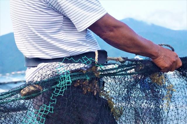 Kiếm tiền triệu mỗi ngày bằng nghề đi giật lùi ở biển - 3