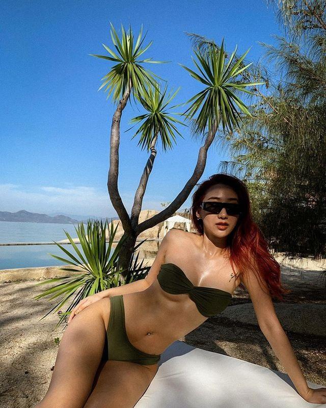 Hot girl Hà thành đốt cháy mùa hè bằng loạt ảnh diện bikini nóng bỏng - 7