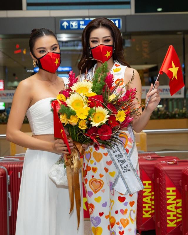 Khánh Vân lên đường sang Mỹ thi Hoa hậu Hoàn vũ - 7