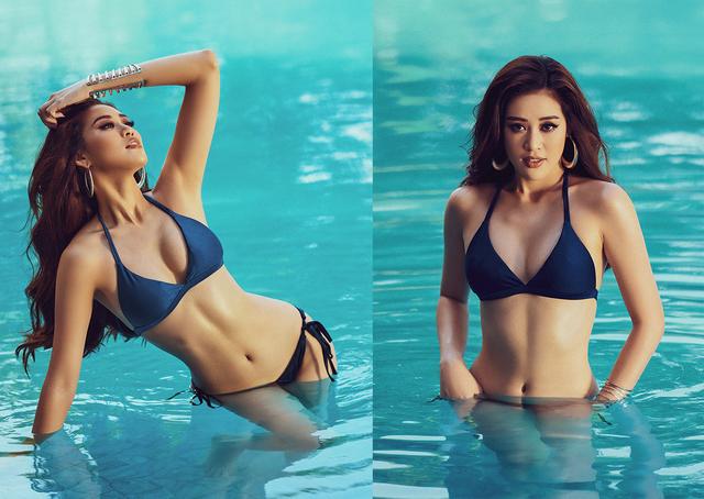 Khánh Vân tự tin với bikini, nhìn lại hành trình sau 2 năm đăng quang - 1