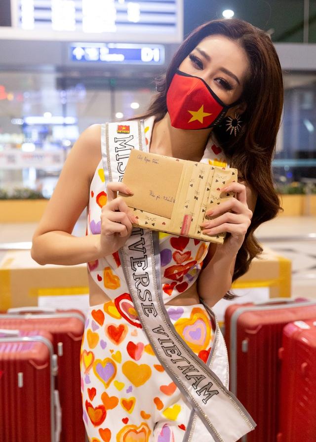 Khánh Vân lên đường sang Mỹ thi Hoa hậu Hoàn vũ - 6