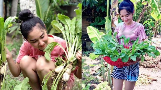 Nông dân 9X xinh đẹp sở hữu trại nấm và khu vườn trĩu quả vạn người mê - 5