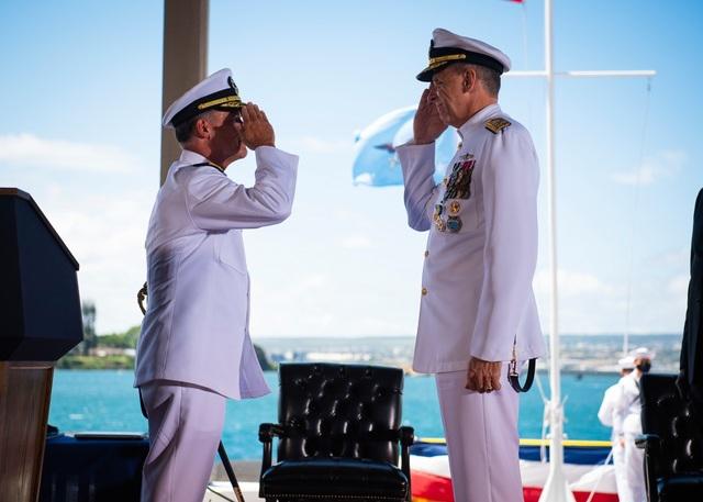 Đại sứ Việt Nam tại Mỹ dự lễ nhậm chức của Tư lệnh Ấn Độ - Thái Bình Dương - 1