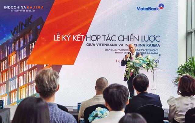 VietinBank và Indochina Kajima ký kết thỏa thuận hợp tác chiến lược - 2
