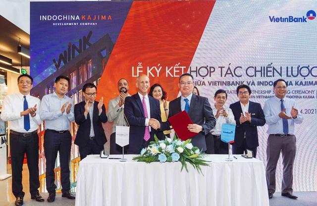 VietinBank và Indochina Kajima ký kết thỏa thuận hợp tác chiến lược - 3