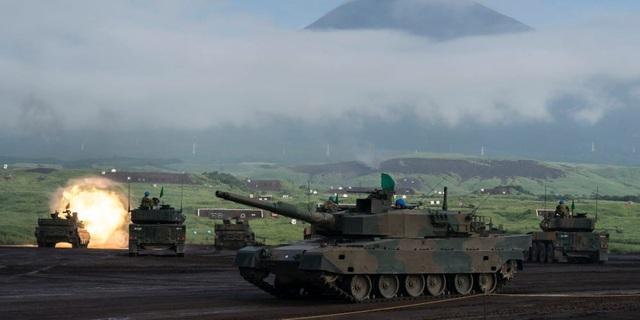 Lo ngại mối đe dọa từ Trung Quốc, Nhật Bản ráo riết cải tổ lực lượng tăng thiết giáp - 1