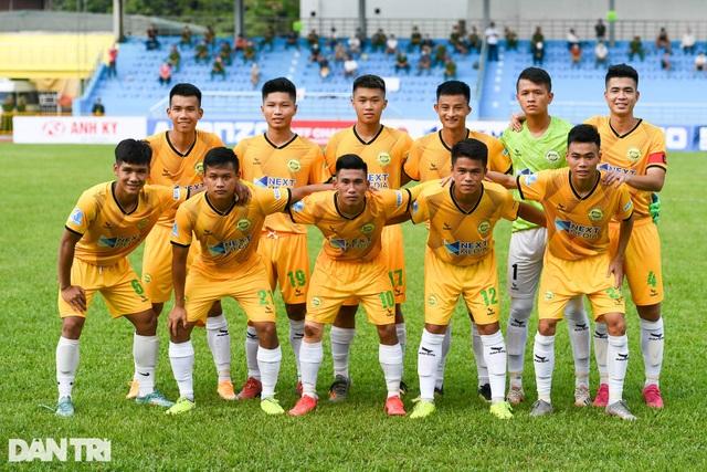 Hòa Bình FC có điểm số đầu tiên trong ngày khai mạc giải hạng nhì 2021 - 1