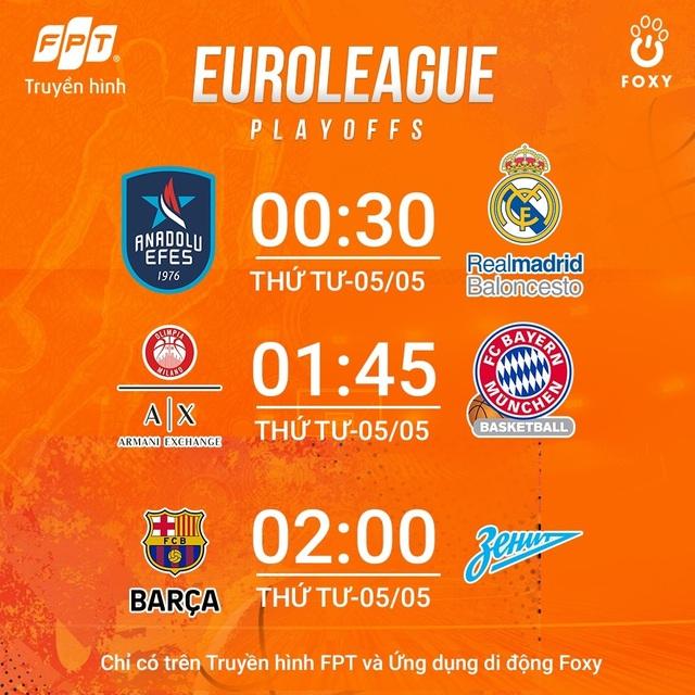 Vòng Playoffs giải Bóng rổ vô địch châu Âu 2021 gọi tên những chiến binh cuối cùng - 4