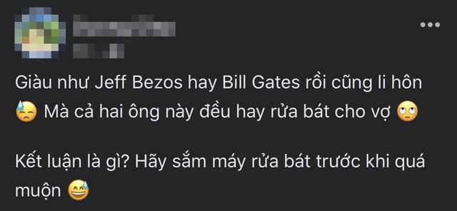 Dân mạng tranh cãi chuyện rửa bát, nguyên nhân là vì... Bill Gates - 9