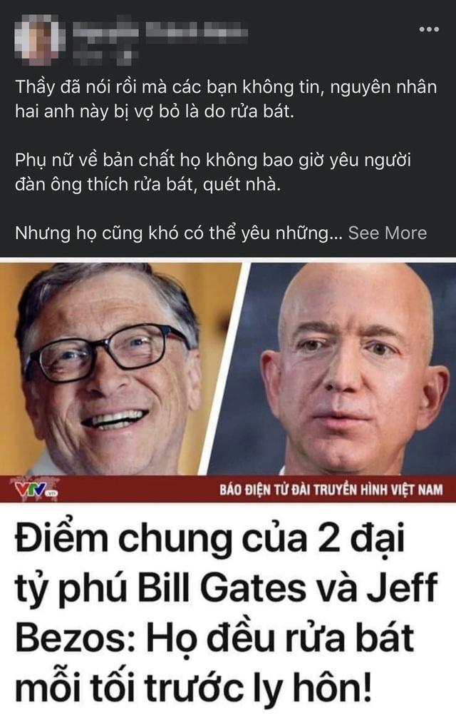 Dân mạng tranh cãi chuyện rửa bát, nguyên nhân là vì... Bill Gates - 1