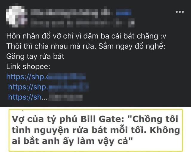 Dân mạng tranh cãi chuyện rửa bát, nguyên nhân là vì... Bill Gates - 6