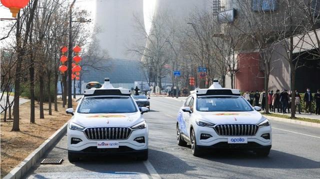 Bắc Kinh triển khai dịch vụ taxi không người lái - 1