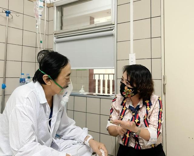Nghệ sĩ Giang Còi phải nhập viện vì ung thư chuyển nặng, ra máu nhiều - 1