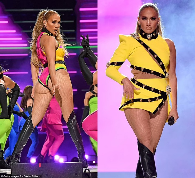 Jennifer Lopez mặc đồ bốc lửa, biểu diễn lôi cuốn - 1